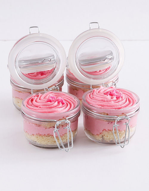 get-well: Turkish Delight Cupcake Jars!