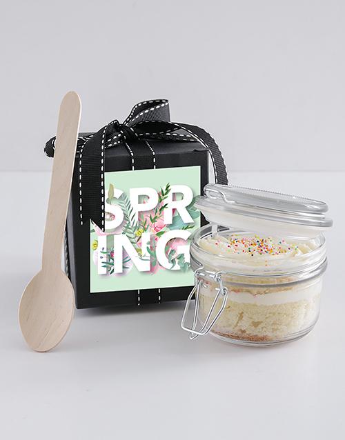 spring-day: Spring Day Vanilla Cupcake Jar!