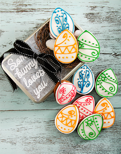 easter: Easter Chocolate Cookie Tin!