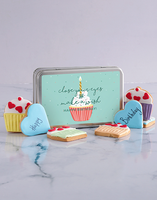 cookies-and-biscuits: Make A Wish Cookie Tin!