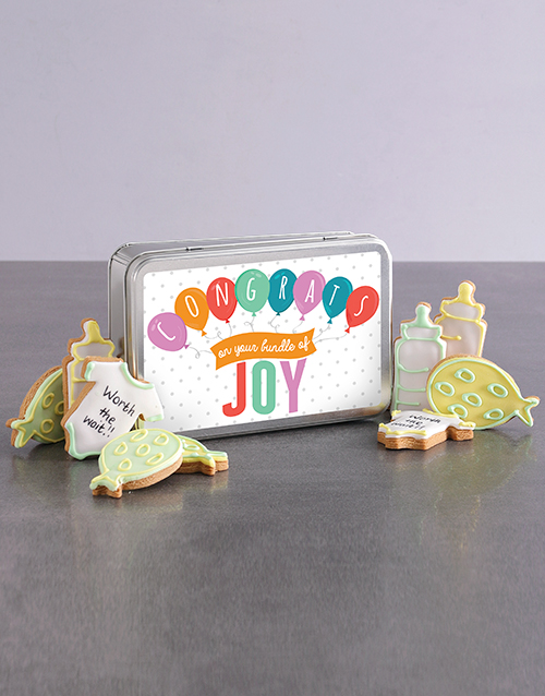 bakery: New Bundle of Joy Cookie Tin!