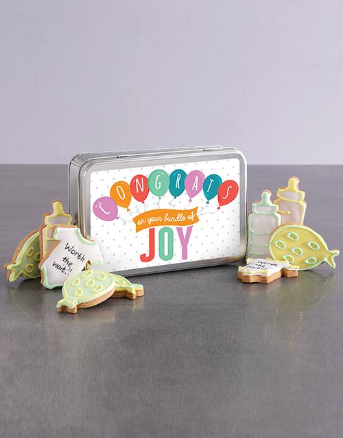 cookies-and-biscuits: New Bundle of Joy Cookie Tin!