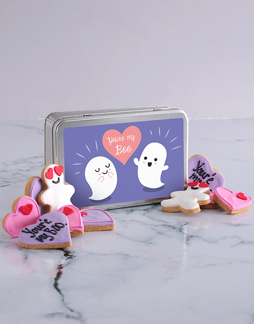 cookies-and-biscuits: My Boo Cookie Tin!