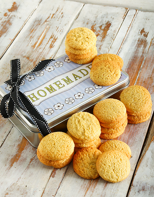 cookies-and-biscuits: Homestyle Vanilla Cookies in a Tin!