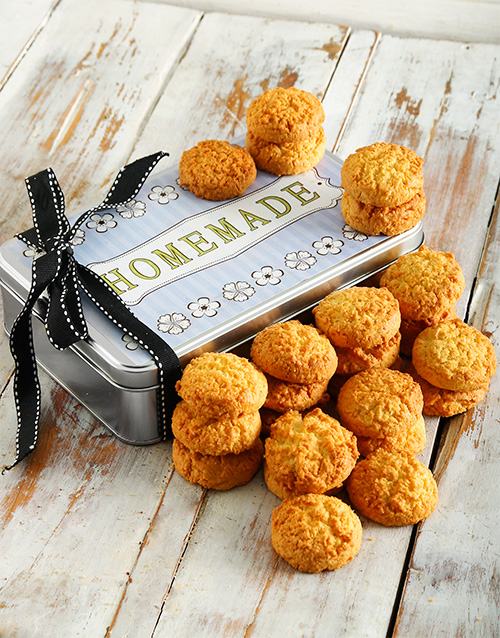 bakery: Coconut Cookie Tin!