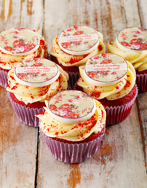 friendship: Friendship Cupcakes!