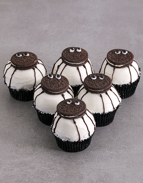 bakery: Chocolate Spider Cupcakes!