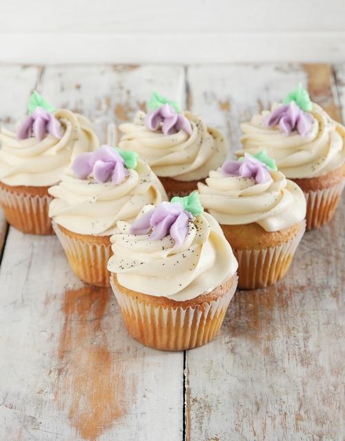 bakery: Earl Grey Cupcakes!