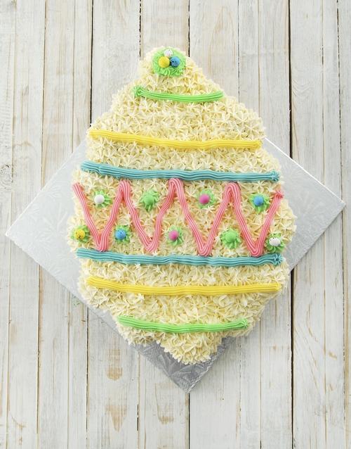 easter: Giant Easter Egg Pull Apart Cupcake Cake!