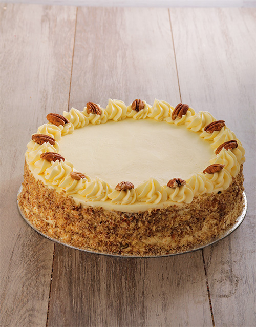 bakery: Carrot and Pecan with Cream Cheese Icing 30 cm!