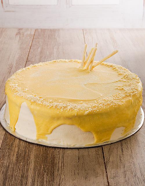bakery: White Chocolate and Raspberry Cake 30cm!