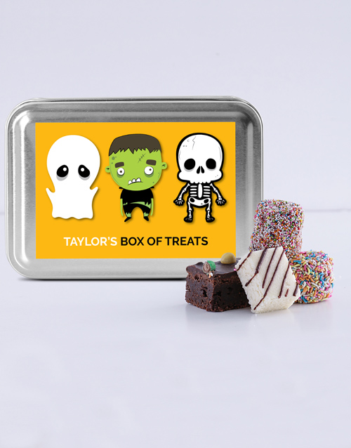 halloween: Personalised Halloween Treat Tin!