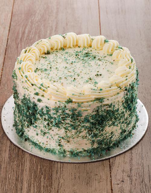bakery: Blueberry Swirl Blue Velvet Cake 20cm!