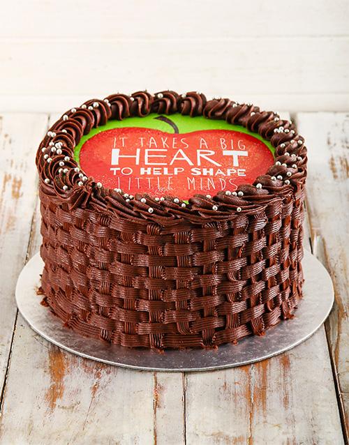 bakery: Teachers Day Chocolate Cake!