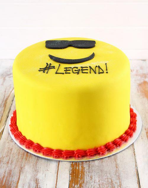 bakery: Legend Emoji Biscotti Cake!