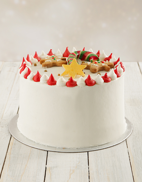 bakery: Christmas Chocolate Cake!