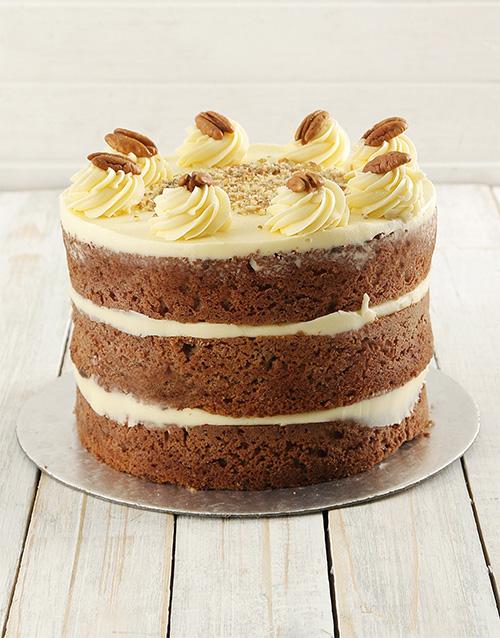 cakes: Carrot Naked Cake 20cm!