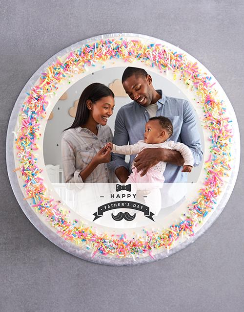 bakery: Fathers Day Photo Cake!