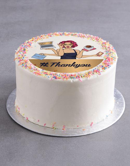 secretarys-day: Thank You Secretarys Day Cake!