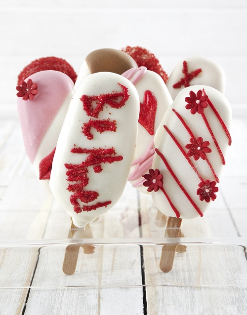 bakery: Love Pie Cakes on a Stick!