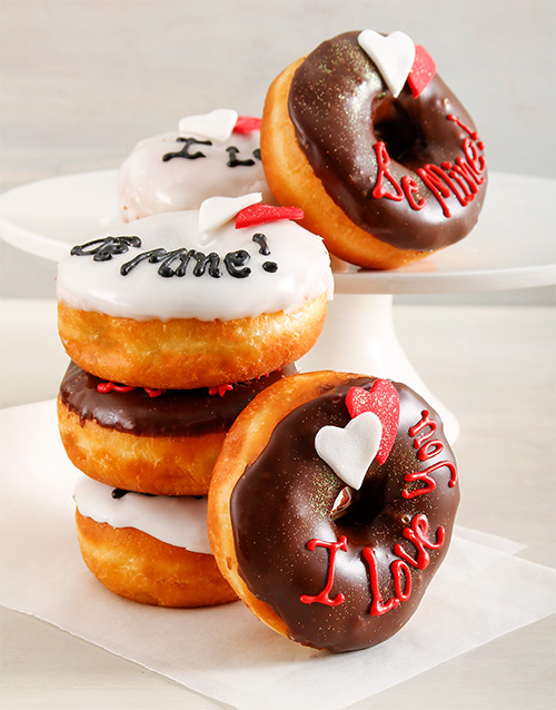 valentines-day: Love Ring Doughnuts!
