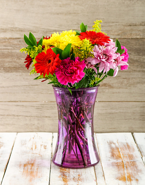 mixed: Purely Perfect Mixed Vase!