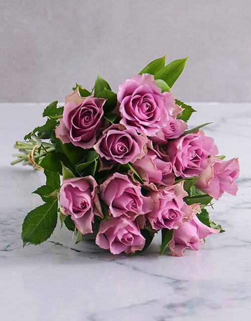 roses: Lovely Lilac Blossoms!