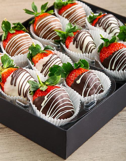 christmas: Stripy Strawberry Gift!