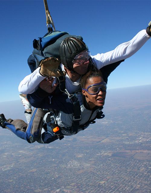 experiences: Tandem Skydiving!