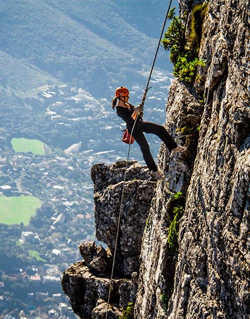 experiences: Table Mountain Abseil!