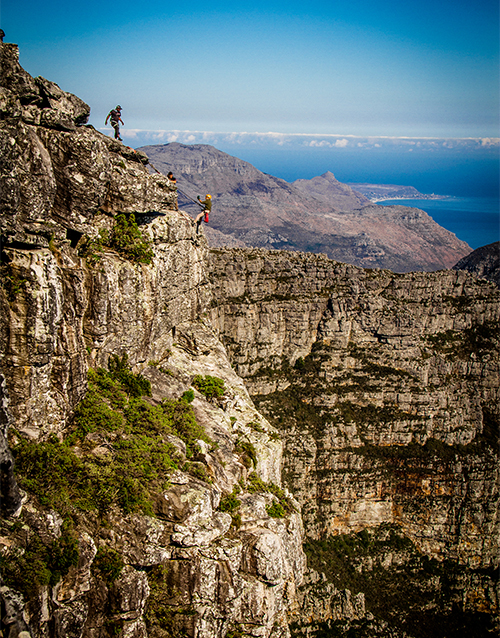 birthday: Hike and Abseil Combo!