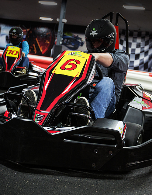 christmas: Xtreme Indoor Karting Arrive and Drive!