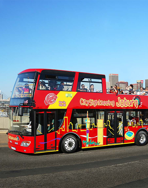 anniversary: Bus Tour in Johannesburg!