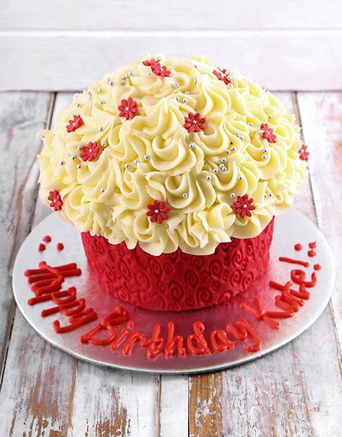 birthday: Happy Birthday Giant Cupcake!