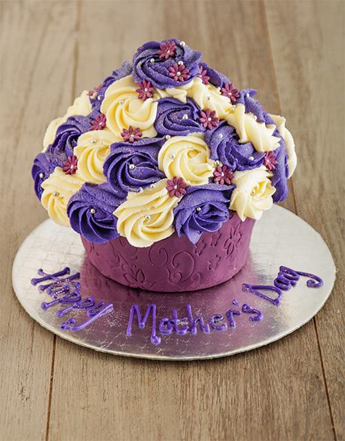 bakery: Purple Perfection Giant Cupcake!