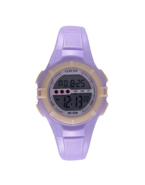 birthday: Gotcha Ladies Purple Digital Watch !