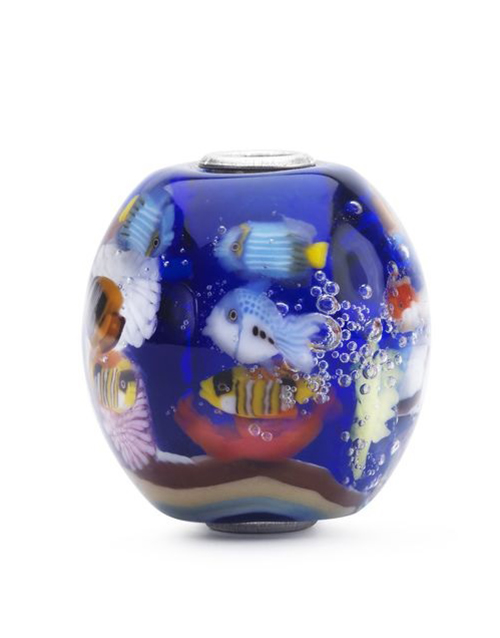 trollbeads: Trollbeads Blue Ocean Limited Collectors Charm!