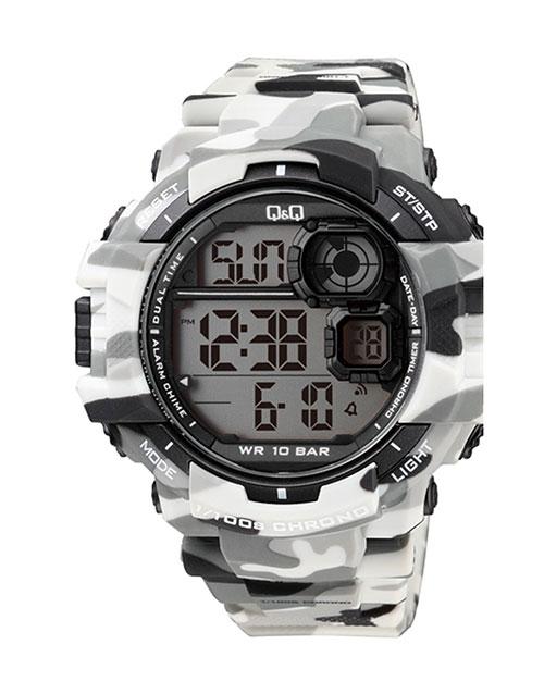 anniversary: QQ Gents Grey Army Digital Watch!