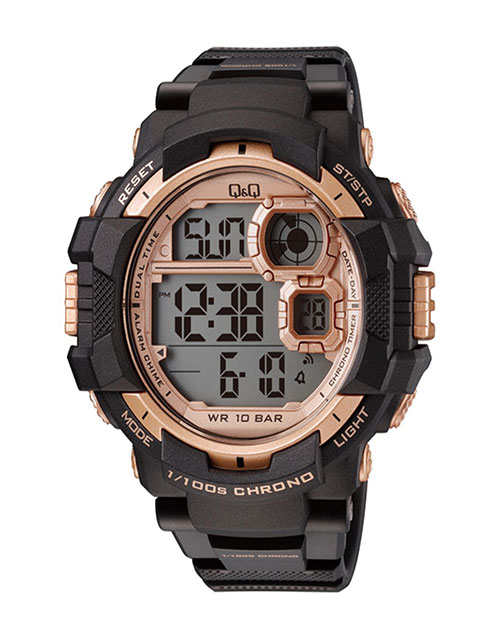 anniversary: QQ Gents Outdoors Rose and Black Digital Watch!