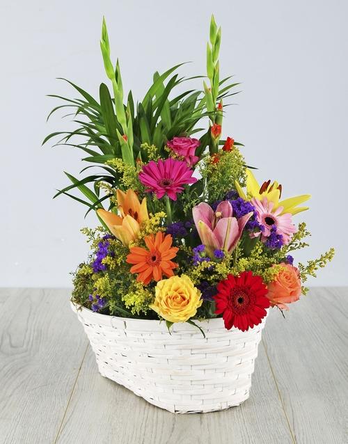 basket: Floral Delight Basket!
