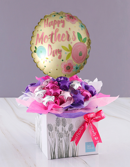 edible-arrangments: Best Mom Star Chocolate Box!