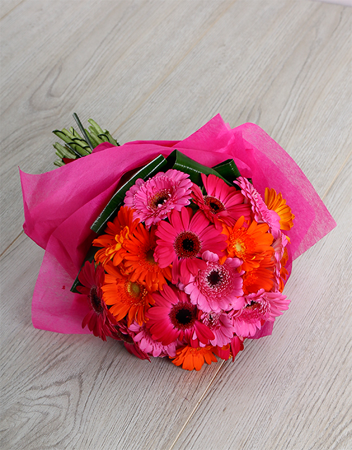 flowers: Mini Gerberas Bouquet!