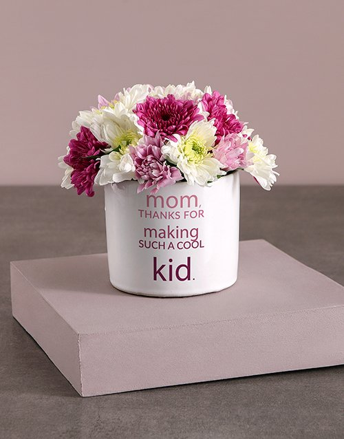 mothers-day: Colourful Sprays in Vase Print!