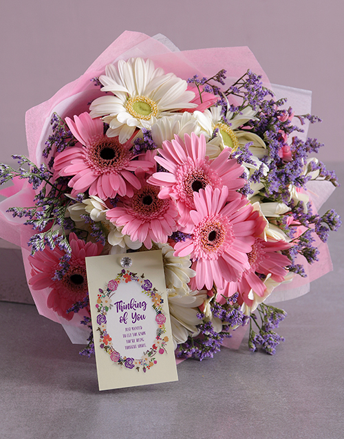 colour: Always Thinking of You Gerbera Bouquet!