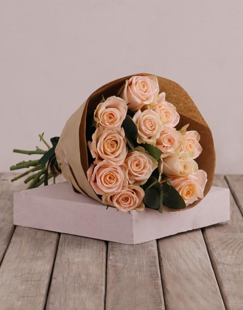 colour: Peachy Mothers Day Bouquet!