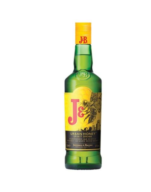 spirits: J & B Urban Honey 750Ml!