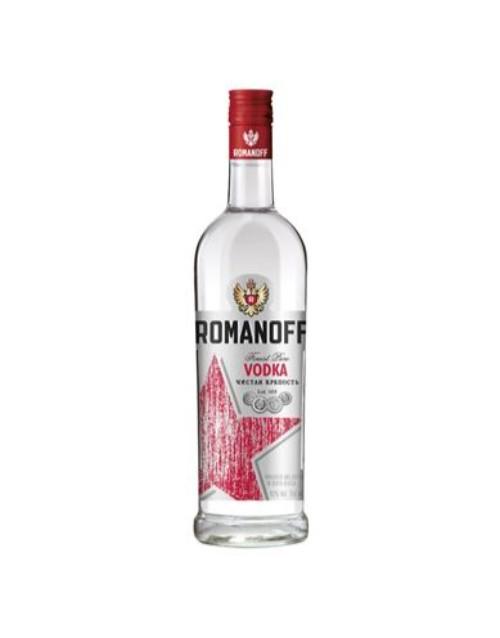 spirits: ROMANOFF VODKA 750ML !