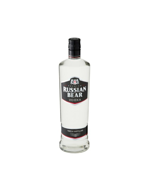 spirits: RUSSIAN BEAR VODKA 750ML !