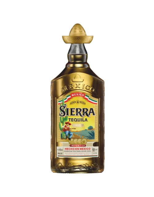 spirits: SIERRA TEQUILA GOLD REPOSADO 750ML !