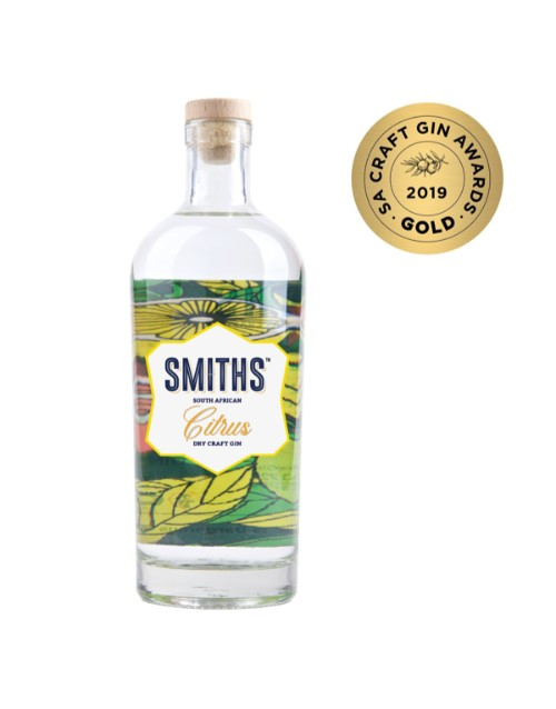 spirits: SMITHS SOUTH AFRICAN CITRUS DRY CRAFT GIN 750ML !